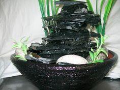 Imagenes del mundo y fantasia: Fuentes de Agua & FENJUI Feng Shui, Yarn Bowl, Diy Hacks, Water Features, Serving Bowls, Fountain, Tableware, Ideas Bonitas, Crafts