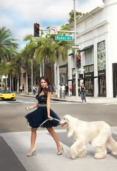 Beaded Illusion Short Prom Dress with Tulle Skirt from Camille La Vie and Group USA modeled by Janel Parrish of Pretty Little Liars
