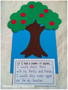 A Cupcake for the Teacher: Johnny Appleseed {Craftivities}