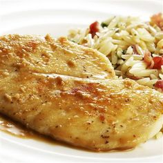Lemon Garlic Chicken: This classic chicken dish is special enough for company, yet easy enough for your family.