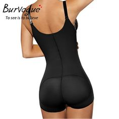 a90e6d16df5 Tummy Control Butt Lifter Latex Zipper Body Shaper Underwear