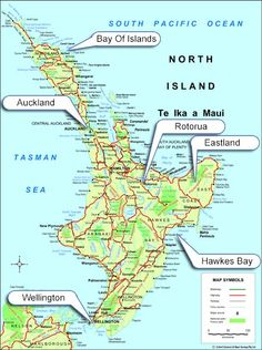 Detailed Map Of New Zealand North Island.31 Best New Zealand Images New Zealand Baby Born Bay Of Islands