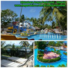 Não sabe onde ficar em Maceió? Nossa dica é o Matsubara Acqua Park Hotel Muita diversão e hospedagem 5 estrelas...  Acesse: www.megaroteiros.com.br/matsubarahotel