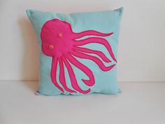 Hey, I found this really awesome Etsy listing at https://www.etsy.com/listing/228553242/octopus-decorative-pillow-throw-pillow
