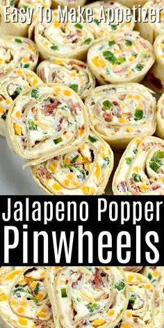 Jalapeno Poppers, Jalapeno Popper Chicken, Yummy Appetizers, Appetizer Recipes, Holiday Appetizers, New Years Appetizers, Easy To Make Appetizers, Appetizer Ideas, Tortilla Pinwheels