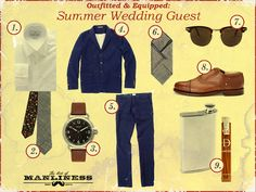 Outfitted & Equipped: Summer Wedding Guest