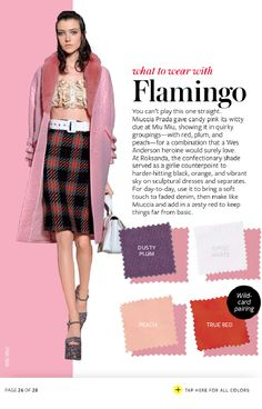 instyle what to wear with every color Colour Combinations Fashion, Color Combinations For Clothes, Fashion Colours, Colorful Fashion, Color Combos, Quoi Porter, Instyle Magazine, Color Pairing, Mode Inspiration