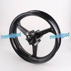 Motorcyle Alloy Front Wheel Rims For Honda CBR600RR 2007 2008 2009 2010 2011 2012 CBR 600 RR Rims Matt Black