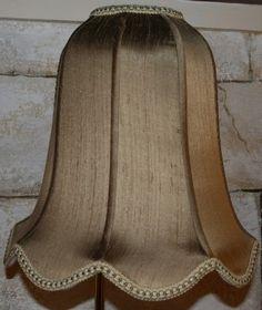"""Custom Vintage Lamp Shade Style Umbrella Bell #140, 4""""x14""""x13""""; 5""""x16""""x14""""; 5""""x18""""x15""""; 4""""x12""""x12"""""""