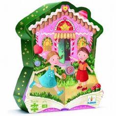 Djeco DJ07248 - Puzzel Hans en Grietje