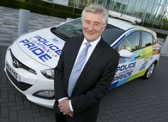 Tony Lloyd, Police & Crime Commissioner with the Force's new Policing With Pride car. The vehicle was commissioned to address the under-reporting of hate crime in the LGBT community, & its design is based on the iconic Rainbow flag which symbolises Gay Pride. The car will be in Manchester's Pride parade in August, and will also be used in other areas where LGBT support is minimal compared to the city centre. However it will not be used to attend hate crime incidents. www.gmp.police.uk