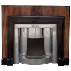 Art Deco Mantel 'VIC-ZD32', circa 1920 | From a unique collection of antique and modern fireplaces and mantels at https://www.1stdibs.com/furniture/building-garden/fireplaces-mantels/