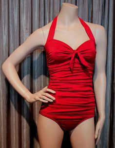 Figure flattering vintage inspired swimwear  by @avabelldesigns