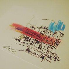 krameramtsstuben   postcards of hamburg   christian wagner   die #krameramtsstuben von postcards of hamburg #hamburg #edition28 #postcards #postkarte #hh #ahoi #moin #skizze #sketch #sketchbook #wearehh #welovehh #igershamburg #hamburgmeineperle⚓️ #hamburgcity #instasketch #instafollow #instagood