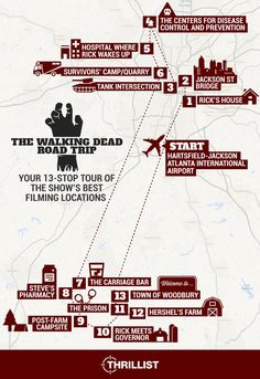 'The Walking Dead' Road Trip: Your 13-Stop Tour of the Show's Best Filming Locations