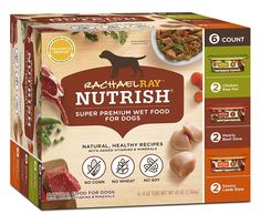 Rachael Ray Nutrish Natural Wet Dog Food *** Check out the image by visiting the link. (This is an affiliate link and I receive a commission for the sales) #DogCare