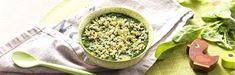 Découvrez la recette oeuf épinards et semoule dès 6 mois pour le déjeuner. Faites le plein d'idées grâce à Blédina! Grains, Rice, Food, Kitchens, Recipes, Meal, Eten, Meals, Korn