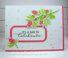 Made @ Home: Framing Sentiments & Images (MIM #312) - PTI Beautiful Berries: Spring