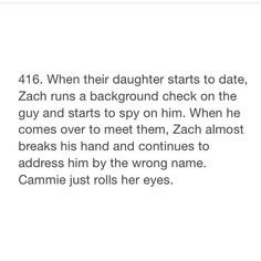 Aw protective dad Zach #gallaghergirlheadcanons (credits to @gallaghergirlheadcanons on tumblr)