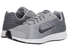 ea41e128651ec SEE IT - Nike Kids Downshifter 8 (Big Kid) (Wolf Grey Metallic Dark Grey Cool  Grey Black) Boys Shoes Step up your kid s sneaker game with the Nike Kids  ...