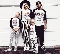 Halloween Family Shirts, Halloween Outfit, Halloween Costumes Family, Matching Family Outfit, Matching Family Set, Matching Baseball Shirts Dad To Be Shirts, Family Shirts, Kids Shirts, Family Halloween Costumes, Halloween Outfits, Family Set, Rich Kids, Matches Fashion, Matching Family Outfits