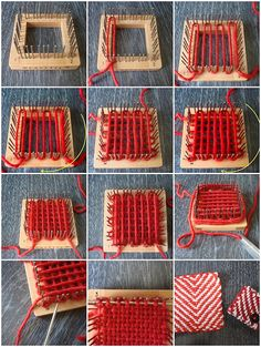 Mosaic of weave-it how to, via Flickr.