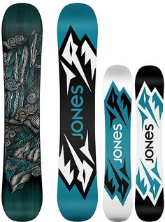 Jones Mountain Twin Snowboard - Men's Snowboards - Men's Snowboarding - Jones Snowboards - Winter 2015/2016 - Christy Sports