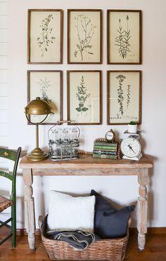 Pressed Fern Paint Color By Michael Penney • Fusion™ Mineral Paint Décor Antique, Antique Farmhouse, Antique Decor, Farmhouse Decor, Farmhouse Style, Antique Kitchen Decor, Farmhouse Frames, Urban Farmhouse, Decorating Your Home