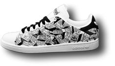 Look Down Custom Sneakers - Paint Or Thread: Custom Sneakers And Sneaker Customizers