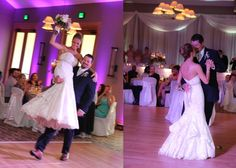 Let's Dance!  Reception at Hazeltine. Photo by http://kellybrownweddings.com/l