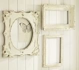 These frames are gorgeous! So simple with a hint of rustic elegance...why am I drawn to this look when I consider myself to be more of a contemporary?  Hmmm...