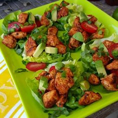 """13 yo daughter?: """"They taste as good as they smell...AMAZING!"""" Perfect Weekend Patio Food!?? Serves 4 You'll need: 2 lbs chicken tenders, diced olive oil lettuce for wraps grape tomatoes avocado green onion cilantro lime Marinade Ingredients:... #asianlettucewraps #chickenlettucewraps #cleanmeals"""