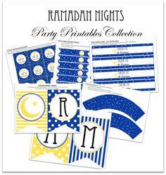 Ramadan Nights Printable Collection