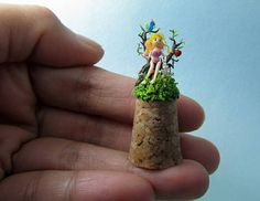 Check out this item in my Etsy shop https://www.etsy.com/listing/215260303/micro-clay-fairy-in-the-micro-fantasy