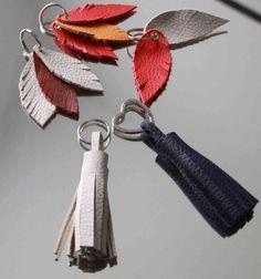Hier zeige ich euch, wie ihr Lederreste wieder verwerten könnt. Ihr braucht nur wenig Material und wenig Zeit und schon entstehen schöne Taschenbaumler oder Schlüsselanhänger. Zur Anleitung geht es hier: http://www.lottejakob.blogspot.de/2015/01/3-mal-leder-3-mal-anders.html