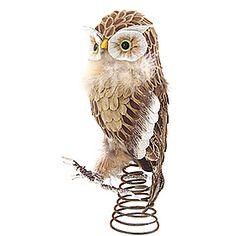 owl tree topper owl christmas tree christmas tree toppers rustic christmas christmas snacks