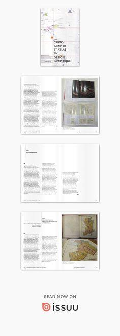 Carto + graphisme  Cartographie et atlas en design graphique, 1920-2012. Essai écrit en master 1 d'Arts Plastiques spécialité Esthétique et Histoire des arts plastiques contemporains.