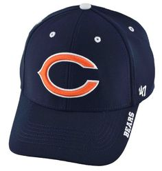 '47 BrandChicago BearsCONDENSER MVP Adjustable Cap  Polyester High quality head gear Comfortable one size fits most - adjustable velcro back Officially licensed product  '47 Brand offers sports fa