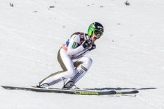 Peter Prevc Photos Photos - Peter Prevc of Slovenia reacts after his jump of the final run during the FIS Ski Jumping World Cup at Planica on March 2016 in Planica, Slovenia. Ski Jumping, Slovenia, World Cup, Golf Clubs, Skiing, Jumpers, Sports, March, Boys
