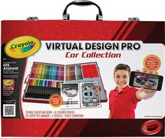Virtual Design Pro Car Collection on crayola.com