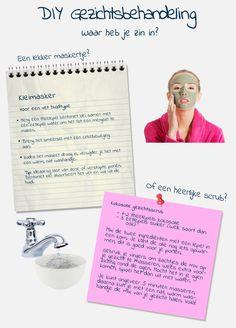 Naast de DIY gezichtsbehandeling tutorial op basis van avocado, is deze visual gebasseerd op een gezichtsmasker met klei. Op deze manier kunnen de beautybloggers de visual plaatsen die hen het meeste aanspreekt.