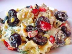 Tzatziki, Fruit Salad, Pasta Salad, Potato Salad, Salads, Food And Drink, Potatoes, Lunch, Ethnic Recipes