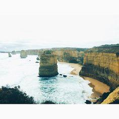 #12apostles #greatoceanroad #victoria #australia #landscape #ocean #roadtrip by beatricepl http://ift.tt/1ijk11S