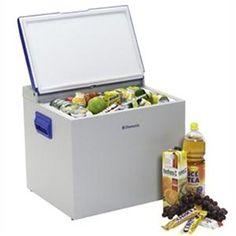 DOMETIC - A330EGP _ Mini-réfrigérateur portable à absorption totalement silencieux (ni moteur - ni compresseur) - Multi-énergie : allumage Piezo - régulateur en Fonctionnement gaz (butane / propane) - Contrôle thermostatique en Fonctionnement sur secteur (220 V) - Prise allume-cigare (12 V) - Couvercle étanche - Poignées encastrées - 1 Bac à glaçons avec couvercle - Certifié E mark.