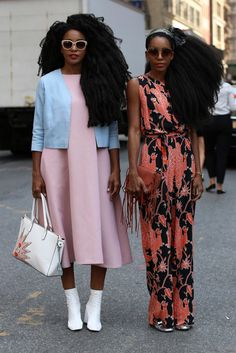 Join us as we kick off our fashion month street style coverage.