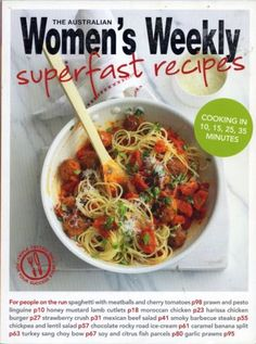 Superfast-Recipes-by-The-Australian-Women-039-s-Weekly-FREE-AUS-POST-used-paperback