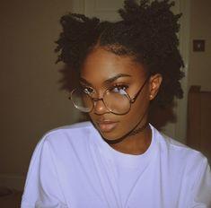 Black and Beautiful ✨ — blackgrlsaremagic: Pretty Black Girls, Beautiful Black Women, Black Girls Hairstyles, Afro Hairstyles, Hairstyles Videos, Pretty Hairstyles, Black Power, Curly Hair Styles, Natural Hair Styles
