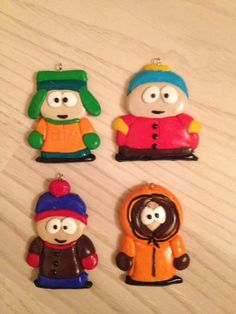 Ilary Design - Charms South Park in fimo