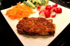 Vegetarische Burgers met bonen, wortel, ui