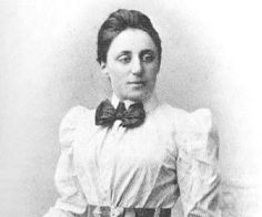 Emmy Noether 1882 – 1935) was an influential German mathematician known for her contributions to abstract algebra and theoretical physics. As one of the leading mathematicians of her time, she developed the theories of rings, fields, and algebras.